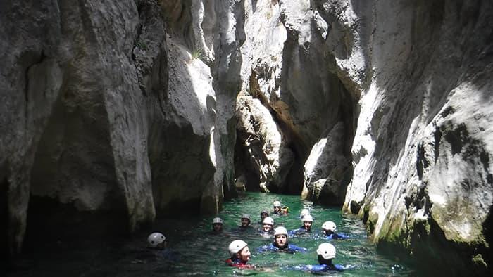 cristalline pools in la bolera canyon