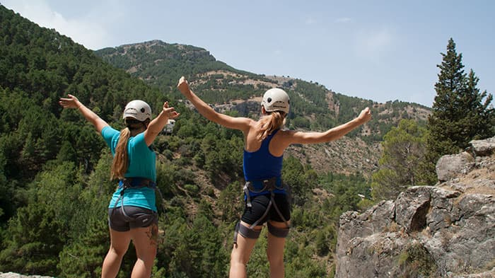 Siver multi adventure in Cazorla