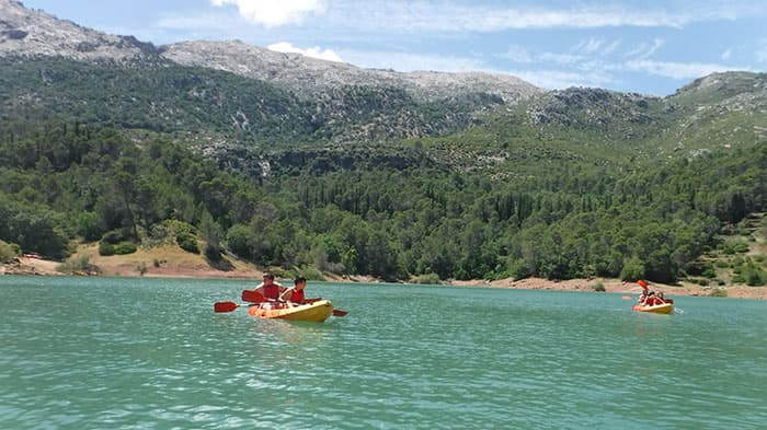 Canoeing in Andalusia