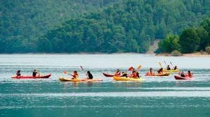 Canoeing in Cazorla