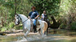 Horseback riding routes in Cazorla