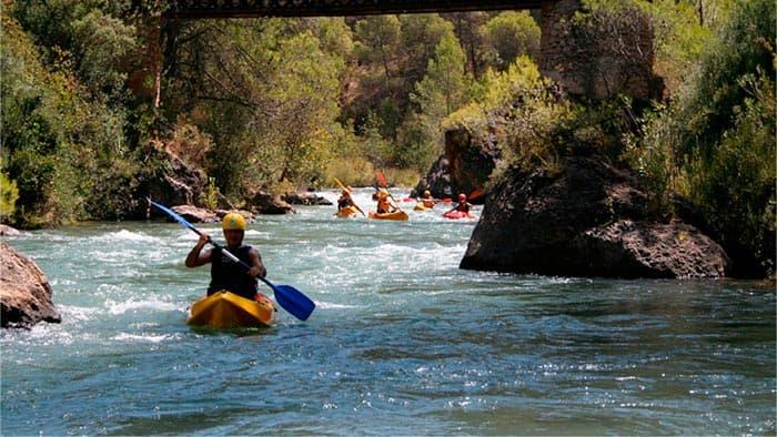 Kayak-aguas-bravas-guadalkivir