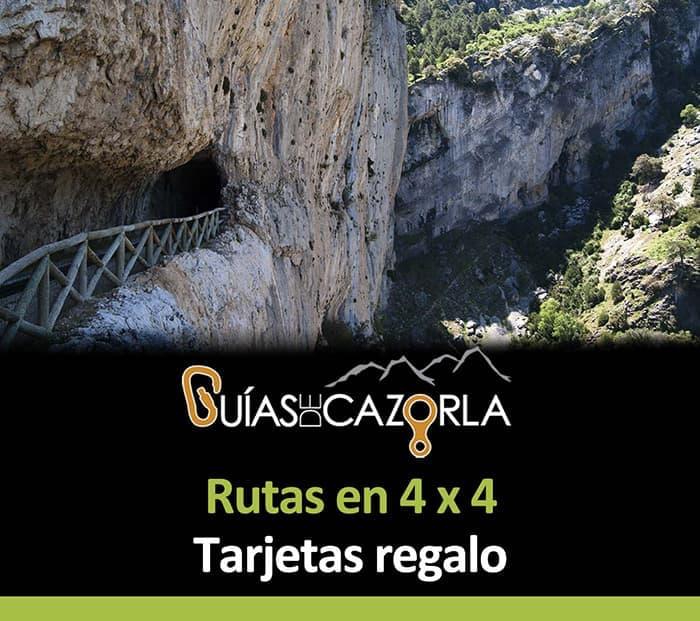 Tarjeta-regalo-4x4-lagunas túneles