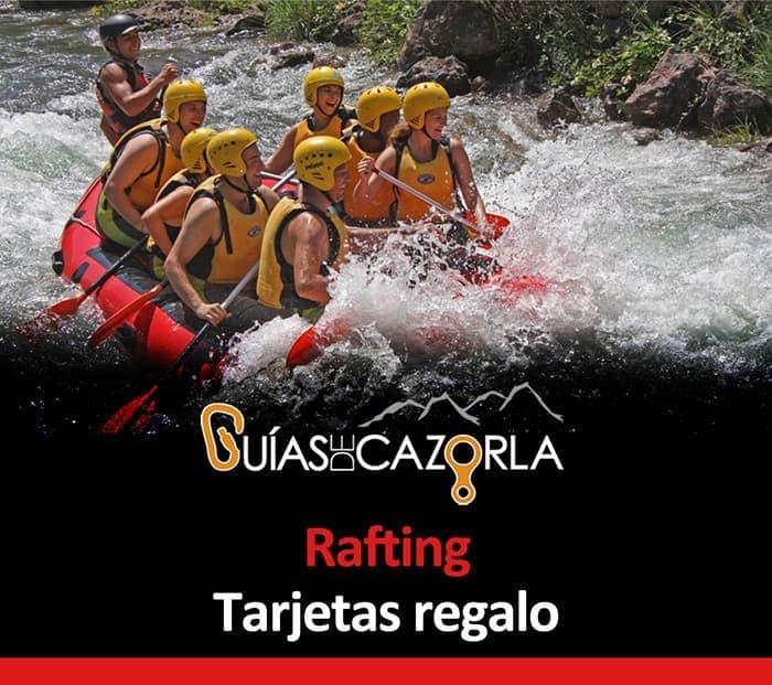Tarjeta regalo Rafting en el Guadalquivir