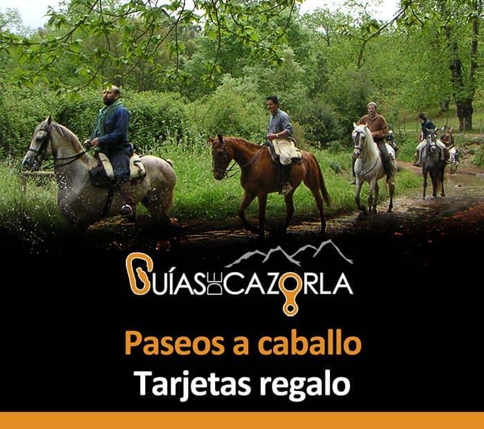 Tarjeta regalo Rutas-a-caballo en Arroyo Frío
