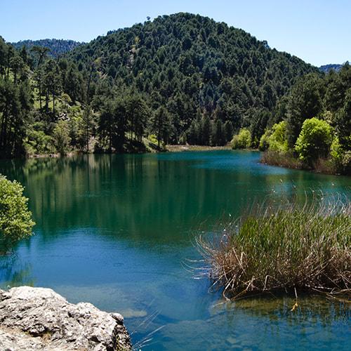 Rutas en 4x4. Laguna de Valdeazores